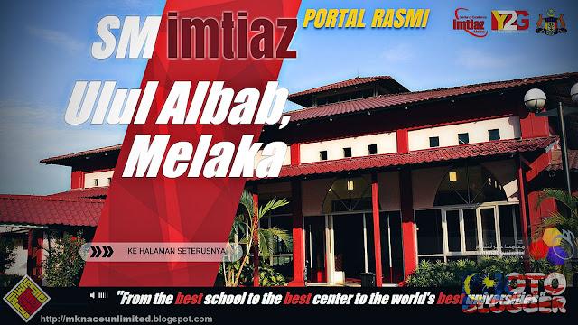 Permohonan kemasukan pelajar Tingkatan 1 ke SM Imtiaz Ulul Albab Melaka bagi sesi 2016