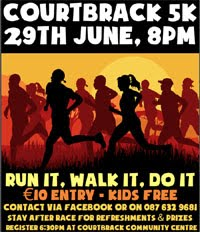 New 5k near Blarney...Thurs 29th June 2017