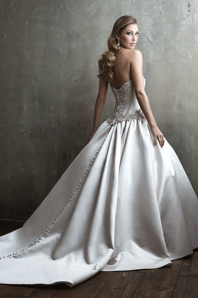 Allure Couture Fall 2014 Bridal Collection Belle The Magazine