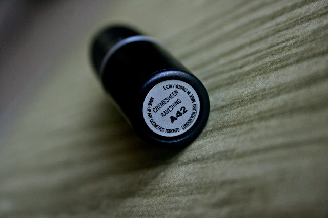 MAC Cremesheen Lipstick in Ravishing - Review, Photos & Swatches