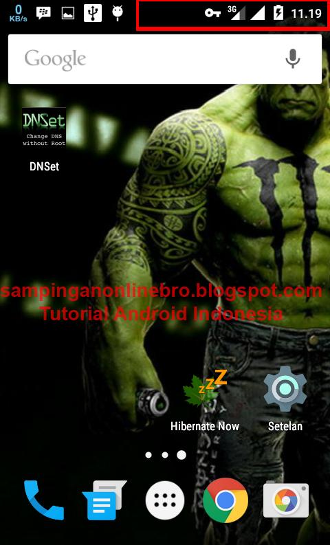 trik cara membuka situs yang diblokir di hp android foto