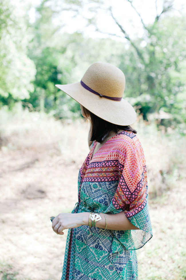 anthropologie caftan