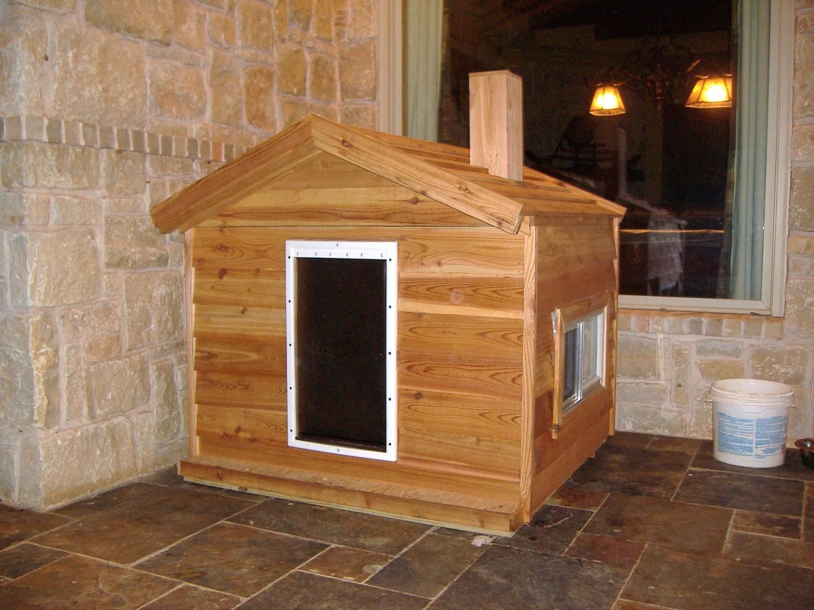 Extra Large Log Cabin Dog House