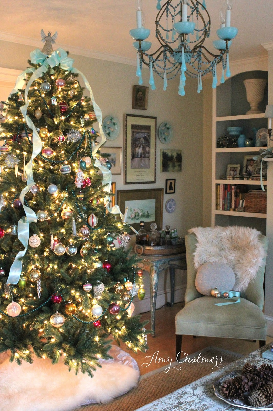 Maison decor classic christmas tree magic for Maison decour
