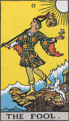 April Fools Day The Fool Rider Waite Smith Tarot