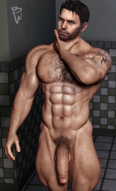 chris redfield hot naked