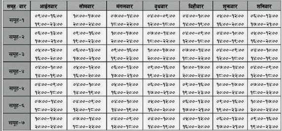EducateNepal.com: New Load Shedding Schedule from 18 January 2015