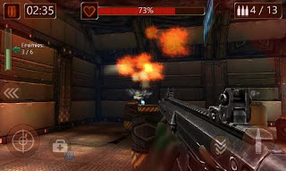 Screenshots of the Modern commando: Sniper killer for Android tablet, phone.