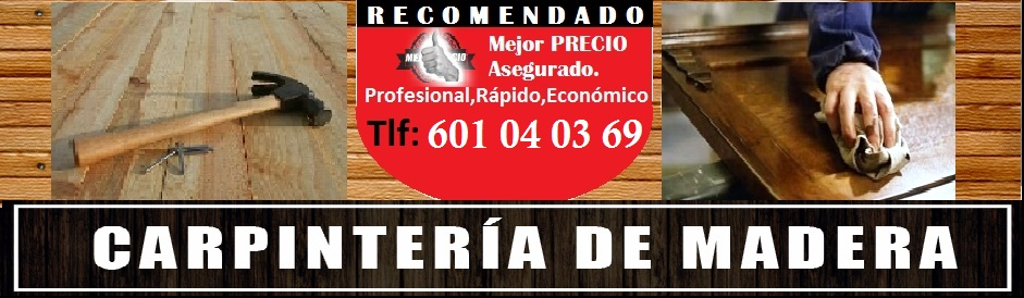 CARPINTERIA CORDOBA 601040369 CARPINTERO