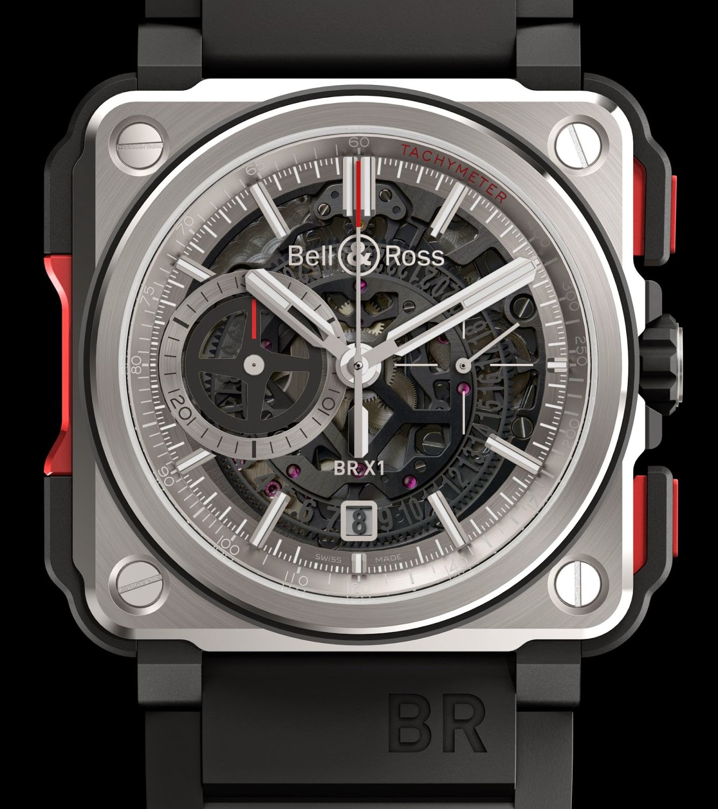neue uhr bell ross br x1 skeleton chronograph. Black Bedroom Furniture Sets. Home Design Ideas
