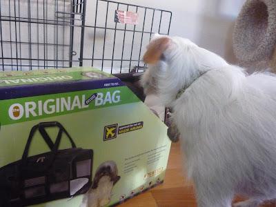 Freckles the Dog Sherpa Bag