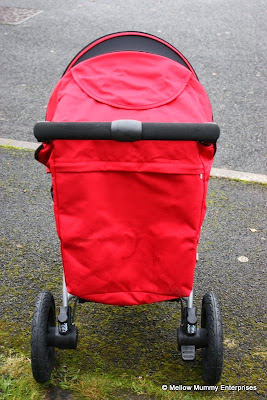 Britax B-Motion 3 from behind