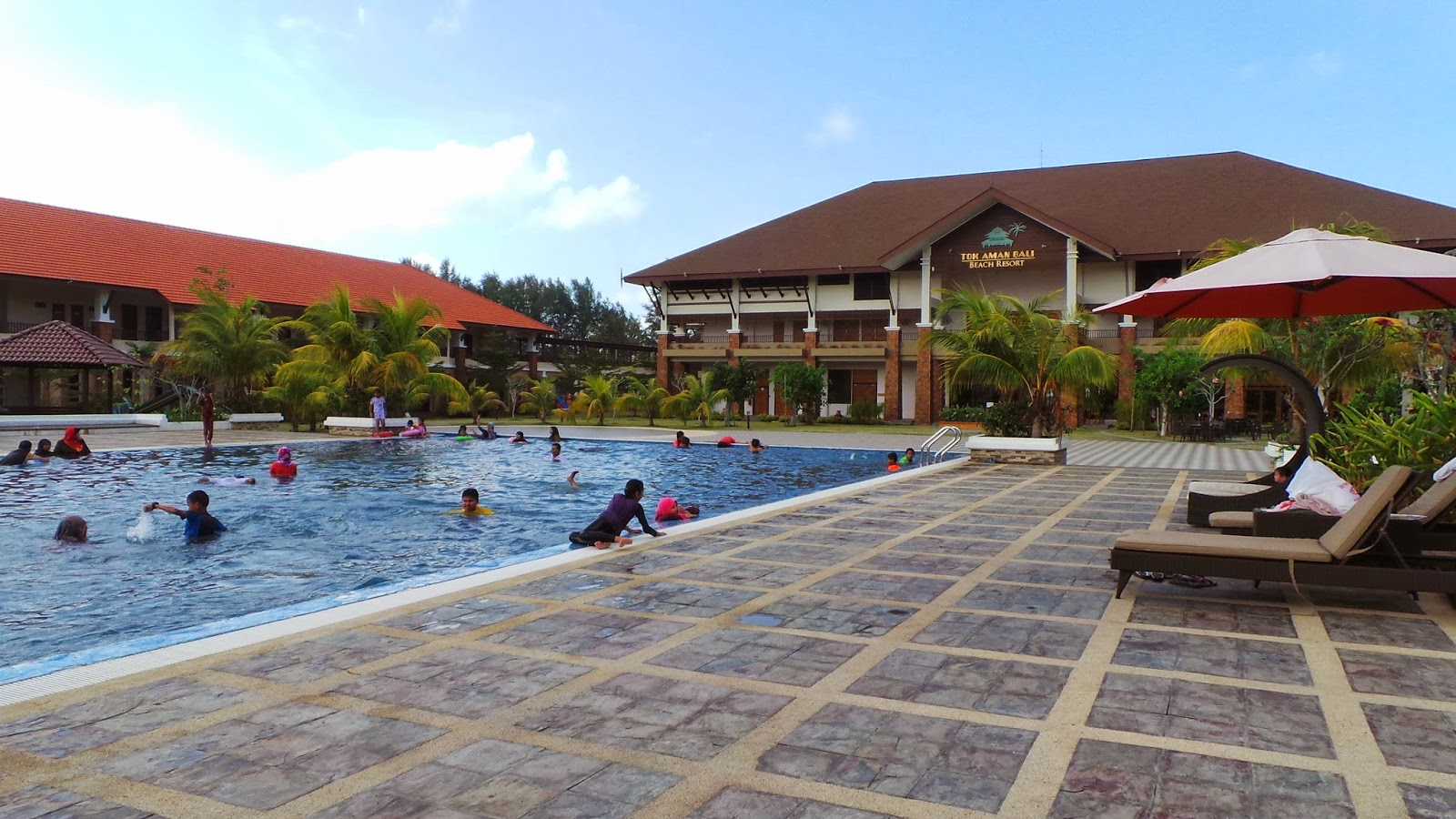 Tok Aman Bali Beach Resort Family Room