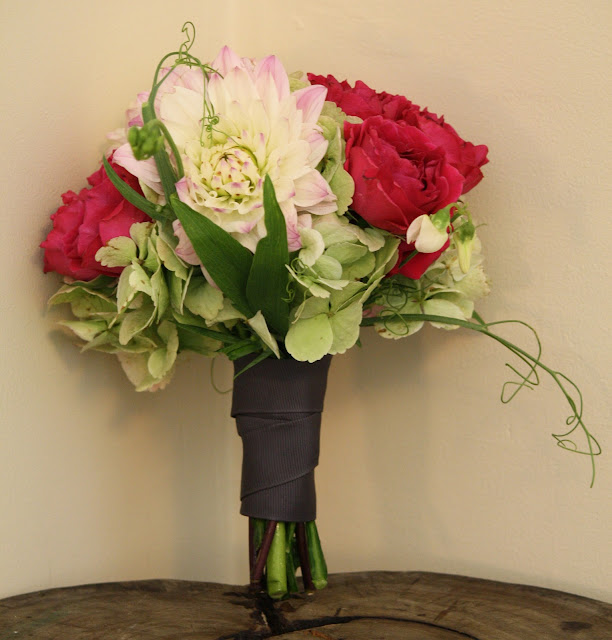 Highlands Country Club Bridesmaid's Bouquet - Splendid Stems Event Florals