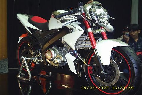 Modif Yamaha Vixion Jadi Supermoto
