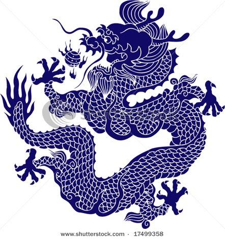 Water dragon tattoos Asian