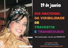 Homenagem às travestis e transexuais pelo seu dia