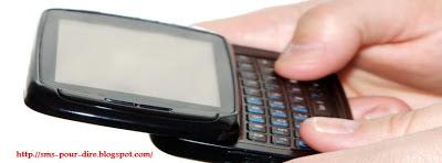 sms pour dire appelle moi