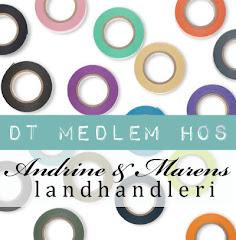 Stolt DT medlem hos Andrine & Marens landhandleri