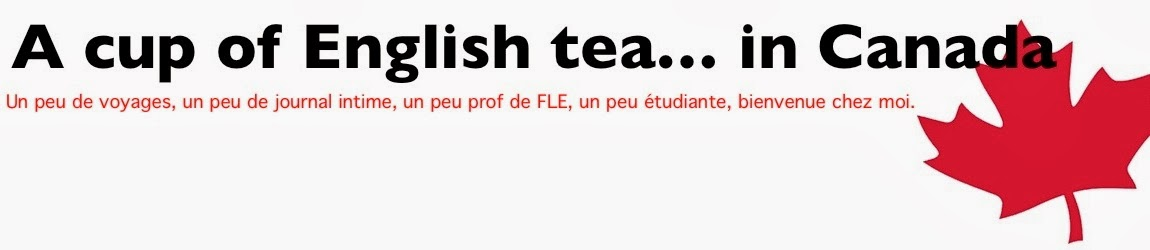 A cup of English tea... in Canada