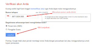 Cara Membuat Email Gmail Tanpa Verfikasi Nomor Telepon