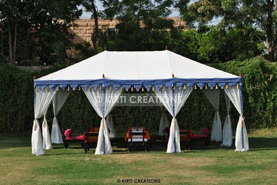 Lavish Raj Tent