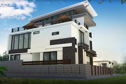 Jasa Design 3D Rumah Tinggal Exterior Online Harga Murah