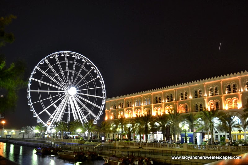 Eye of the Emirates in Al Qasba Sharjah