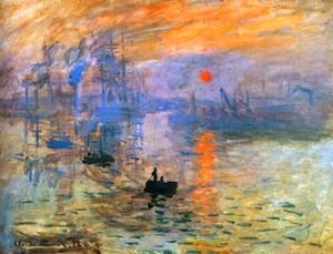 Claude Monet. Impresión, sol naciente