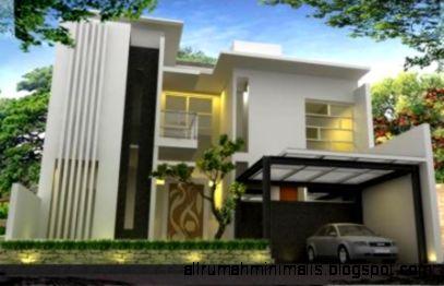 Contoh Gambar Desain Rumah Minimalis Modern Terbaru Terupdate
