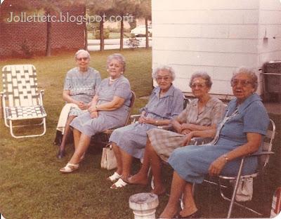 Sullivan sisters and Grandma Davis