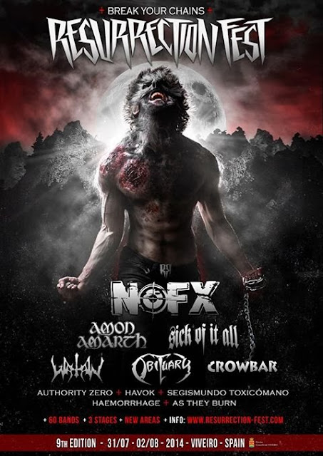 Avance de Cartel Resurrection Fest 2014