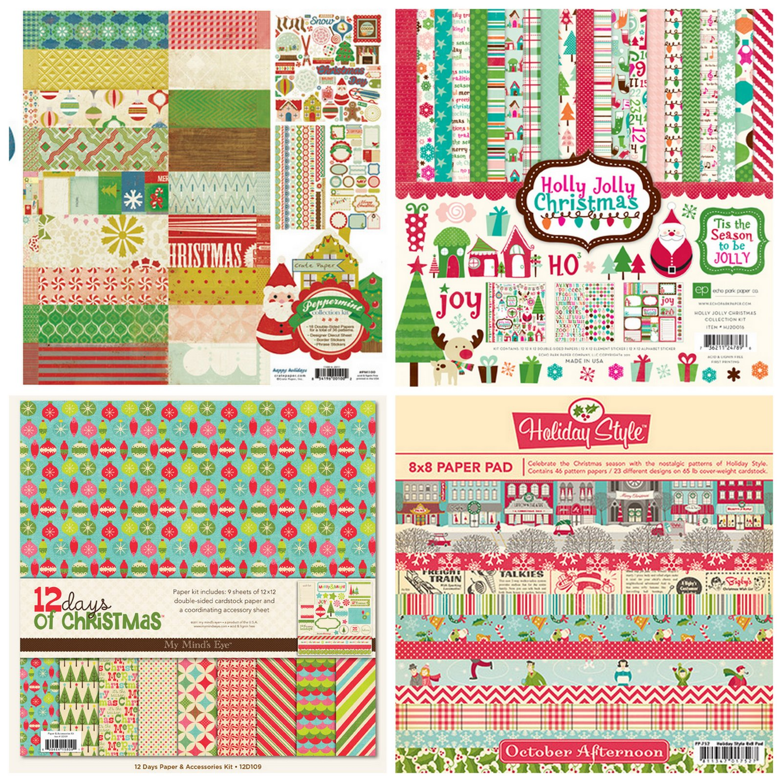 Scrapbook paper collections - Hola Scrappers I Ve Got Something Super Fun To Share With All Of You Today Especially Those Who Are Gearing Up For Journal Your Christmas December Daily