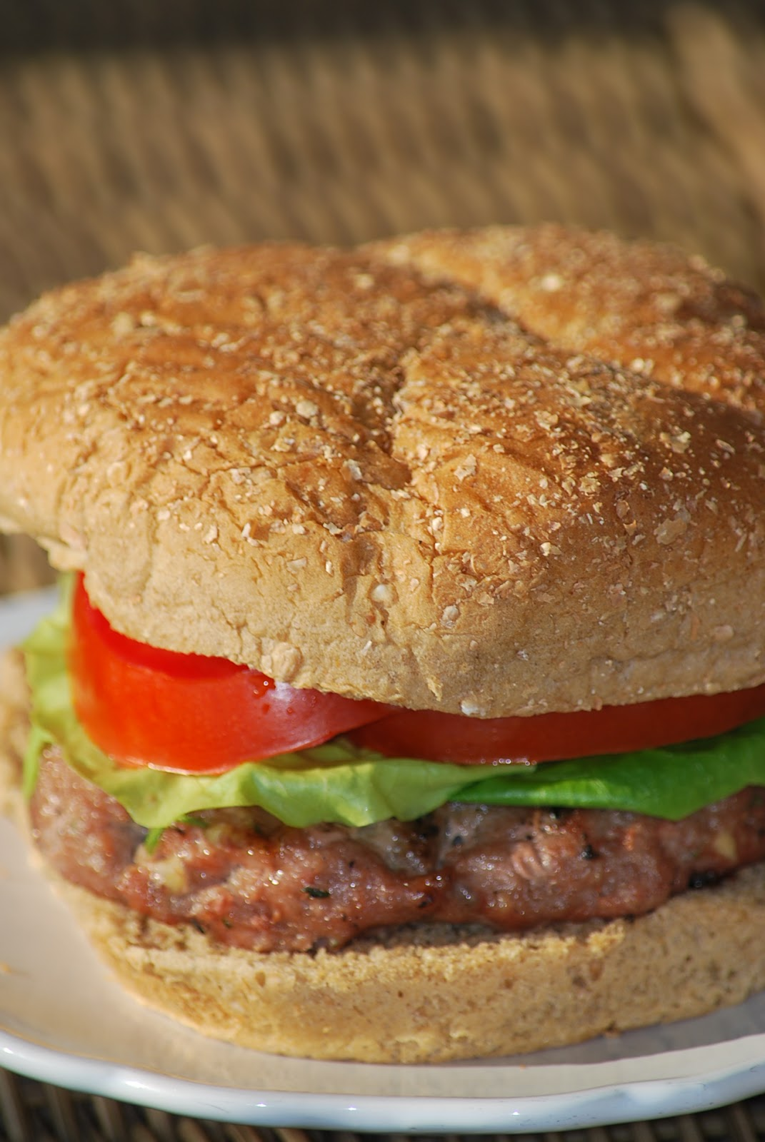 My story in recipes: Herbed Turkey Burgers