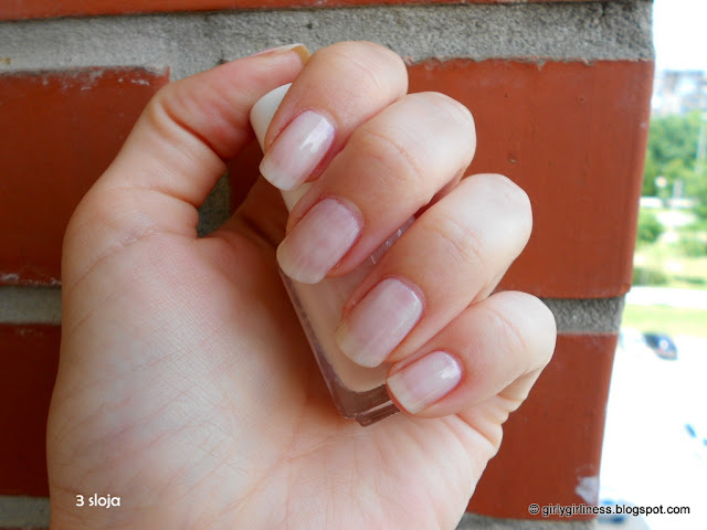 essie ballet slippers three layers