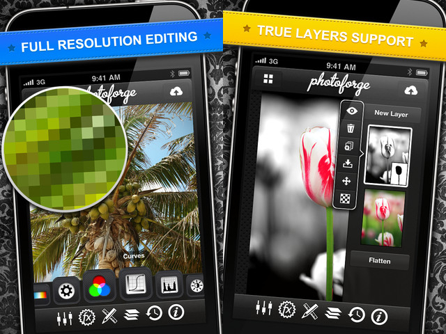 Best apps for photographers PhotoForge2