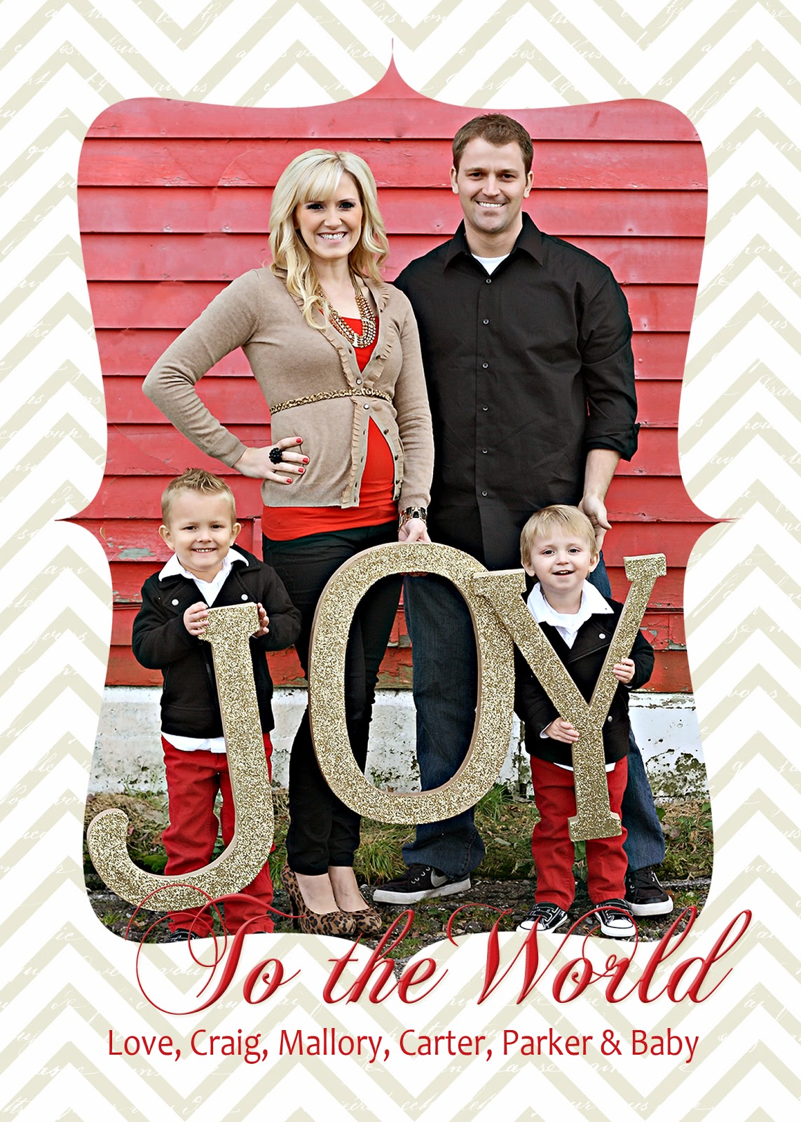 christmas card idea turned christmas decor - Christmas Photo Cards Ideas