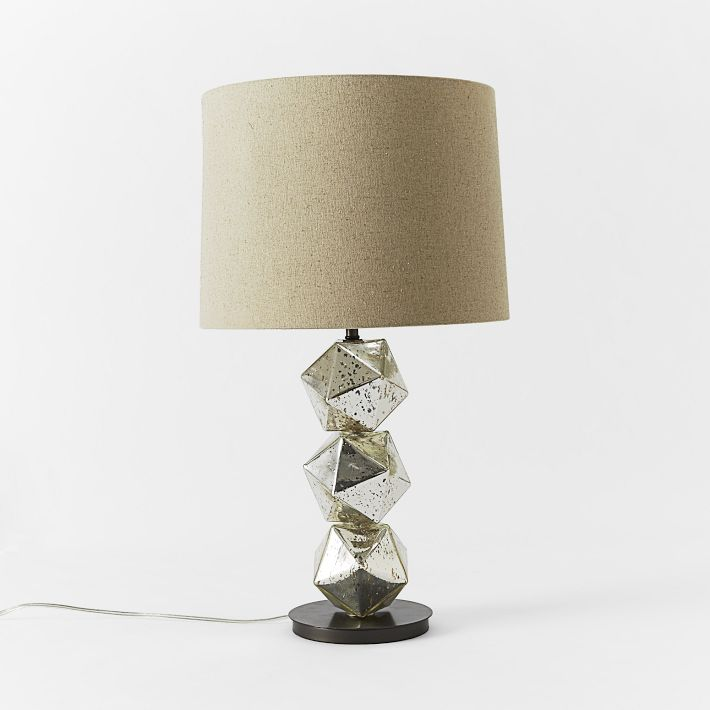 West Elm Stacked Polyhedron Table Lamp
