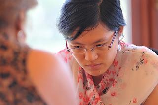 Echecs à Jermuk : Hou Yifan (2617), la championne du monde d'échecs en titre - Photo © site officiel