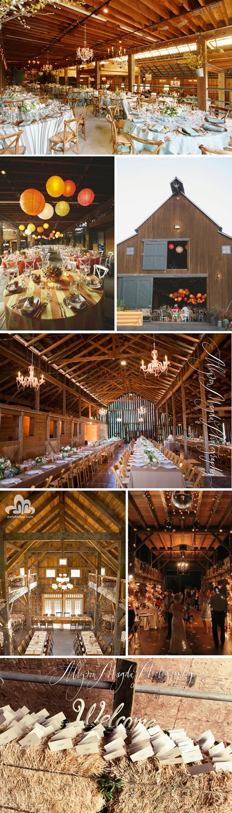 Decorating A Barn For A Wedding