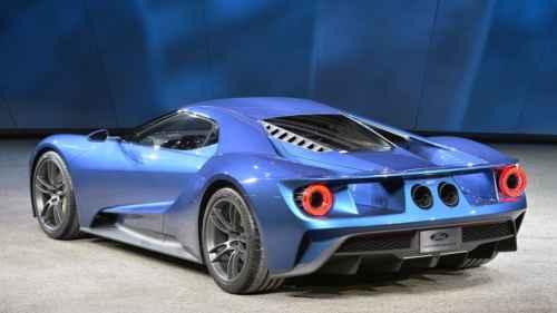 Noul Ford GT model 2015