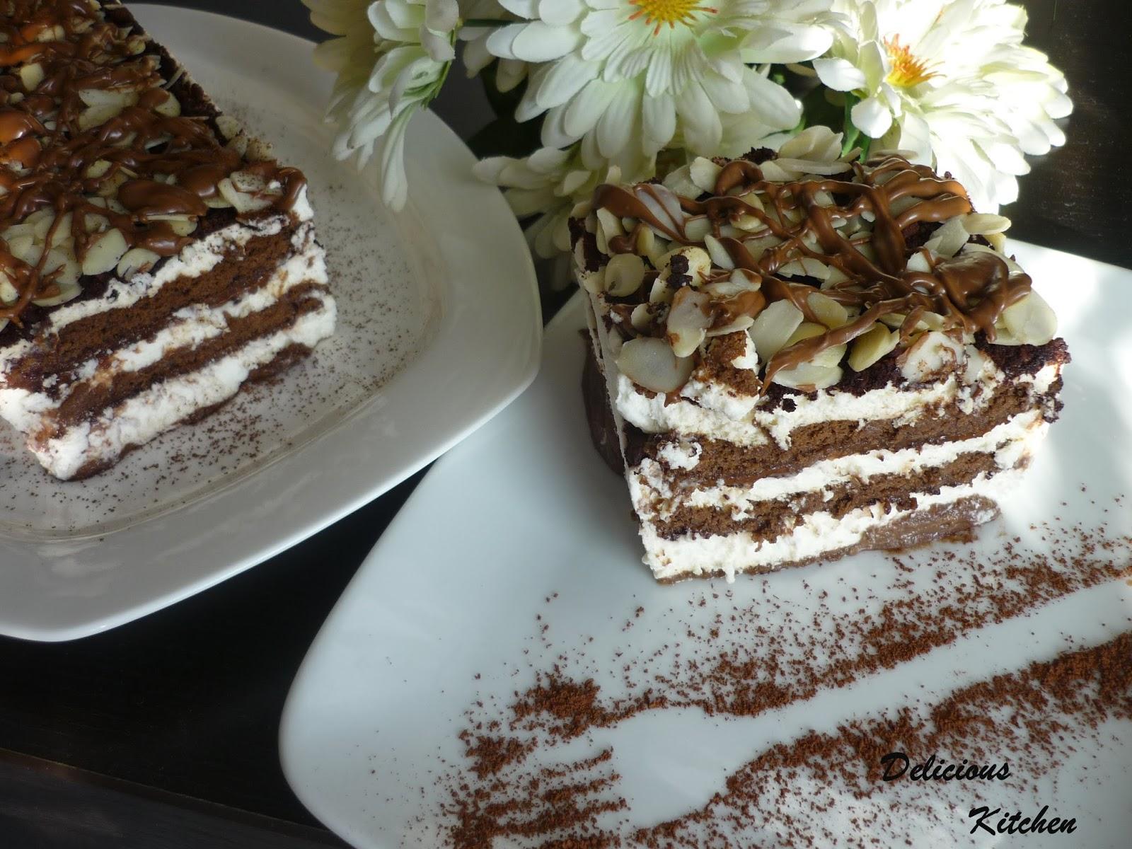 Торт поцелуй негра рецепт пошагово в домашних условиях