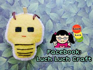 Gantungan Binatang  Lebah Lucu