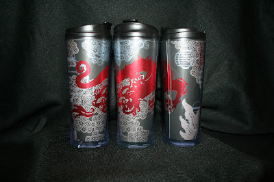Picture: Awesome Starbucks travel mug with dragon design