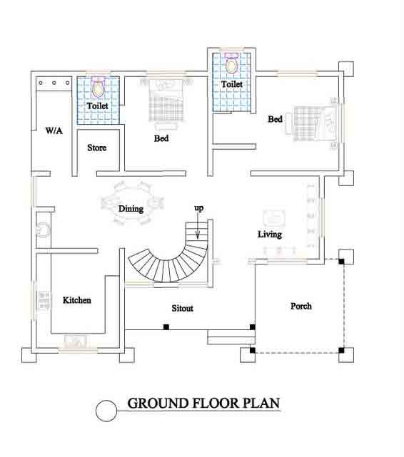 Home decorations kerala house plans home plans with for House plan ideas