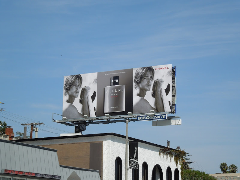 Allure Homme Sport cologne billboard