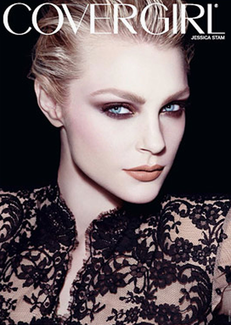 covergirl3 Jessica Stam para CoverGirl!