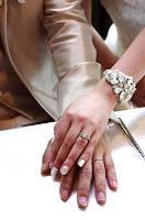 オーダーしたマリッジリング(結婚指輪)はサイズもぴったりです。