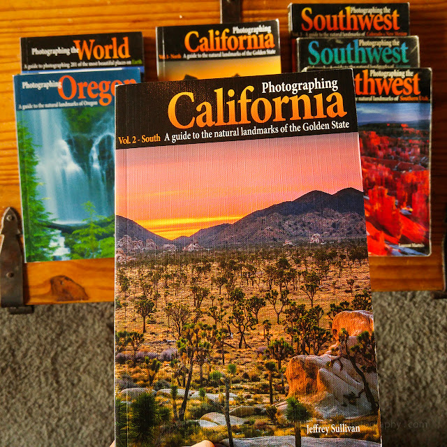 Photographing California - South, landscape photography travel guidebook