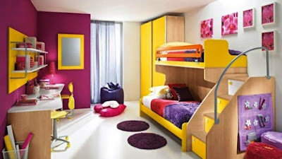Lighting For Kids Room, children bedroom design, Beautiful Bedroom Design,